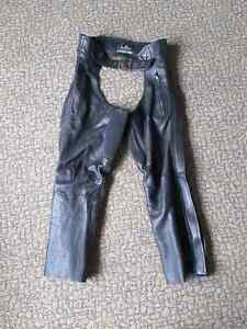Ladies Leather Riding Chaps