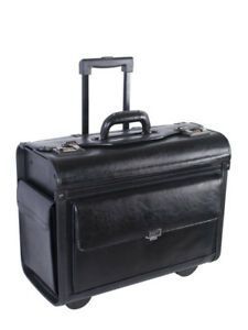BRAND NEW Nextech Leather Wheeled Business Case (Amazing deal)