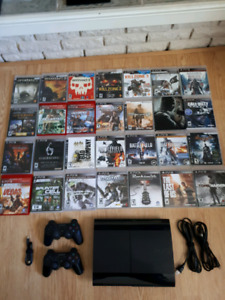Playstation 3 Slim (500 gb) with Games