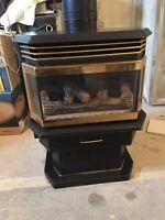 Free standing-Natural gas Direct Vent fire Place/stove