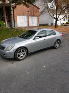 2004 Infiniti G35 Manual  (Excellent Condition!)