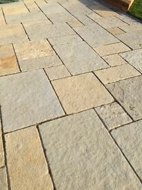 ***New*** Natural Limestone Paving - Tuscan Antique tumbled