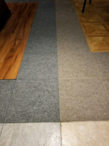 Mold-Resistant Flooring for basement or Man Cave