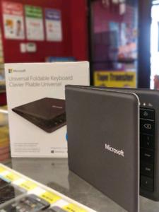 Microsoft universal foldable   wireless Bluetooth    keyboard