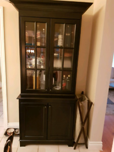 Sideboard and hutch cabinet