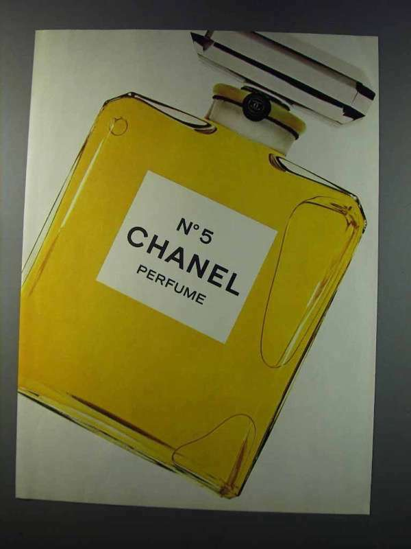 1981 Chanel No 5 Perfume Ad