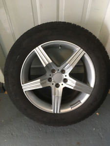 4 Winter Tires on Mags - 245/60R18