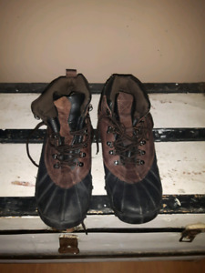 Men's Leather winter boots size 13