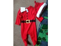 Brand new Christmas baby outfit 0-3 months newborn