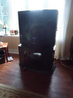 32 inch television and stand