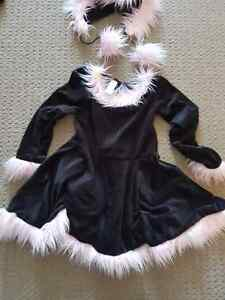 Holoween costume cat 8-10years old costume de chat