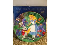 Kenley's collectable Disney plate- Alice in Wonderland