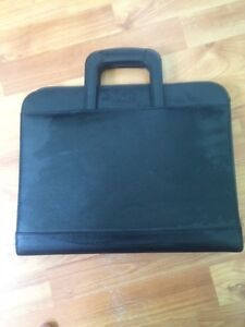 Buxton leather briefcase binder