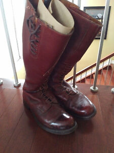 RCMP Strathcona,boots, High brown, riding boots, GRC
