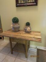 Rustic reclaimed wooden table - can adjust to size if needed