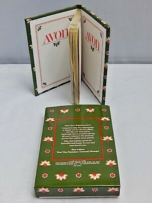 Nos Avon Vintage 1980s USA Address Telephone Record Book Personal Friend (Usa Address Book)