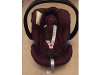 Mama and Papa's baby car seat