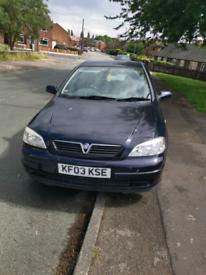 Vauxhall astra 1.7 DTI ECOFLEX diesel astra g