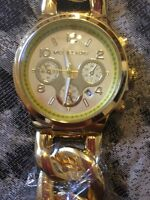 Gold Michael kors twist watch