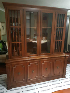 2 piece-Solid Wood Hutch ASAP!!