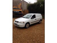 Vauxall Astra van 1.7 turbo clean reliable work horse