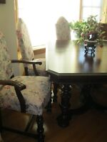 REFINISHED VINTAGE @ ANTIQUE FURNITURE OPEN HOUSE