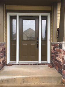 Front Door and Sidelights