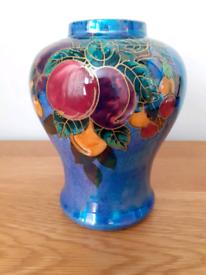 Rare Crown Devon listerine fluorescent vase
