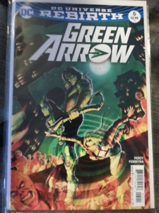 Green Arrow Rebirth #5 Comic