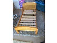Kiddicare junior bed & mattress FOR SALE