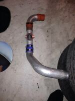 """2"""" inter cooler piping with Greddy flange"""