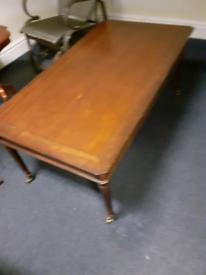 Beautiful oak wood coffee table