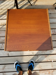 Wooden coffee table from ikea OBO