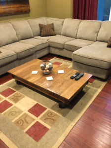 Foundry/Factory cart coffee table