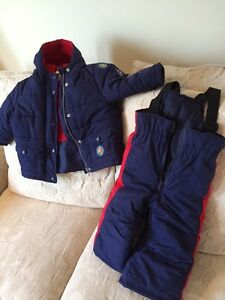 Baby winter jacket and matching snow pants West Island Greater Montréal image 1