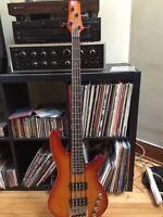 Bass Ibanez srx700 (pick ups actifs)