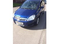 Vauxhall zafira 2008 1.6 life 68k miles 2 owners from new new mot 7 seater