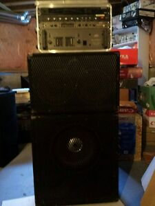 Professional 400W Bass road/stage rig
