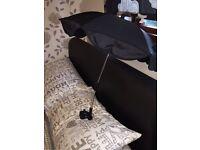Black universal buggy parasol