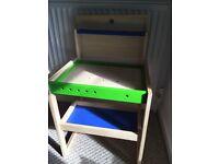 Childs workbench/desk