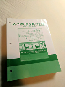 Fundamental Accounting Principles Working Papers