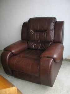 Excellent Rocking Leather Recliner