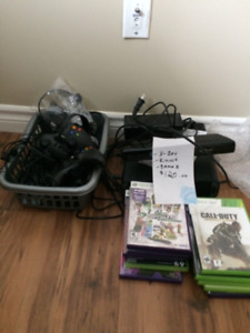 XBOX 360 & KINECT WITH GAMES