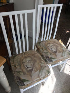 Two Lion Chairs