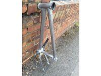 BMX Bike Frame / Sanded To Bare Metal !