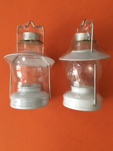 2 Tea Candle Lanterns