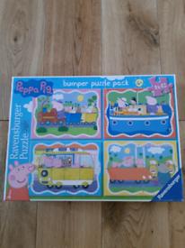 Peppa pig jigsaw brand new