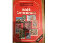 1990 Stanley gibbons stamp catalogue book>>