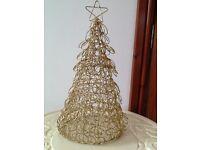 Lovely Gold glitter Christmas tree