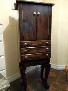 Hand made Jewelry Armoire